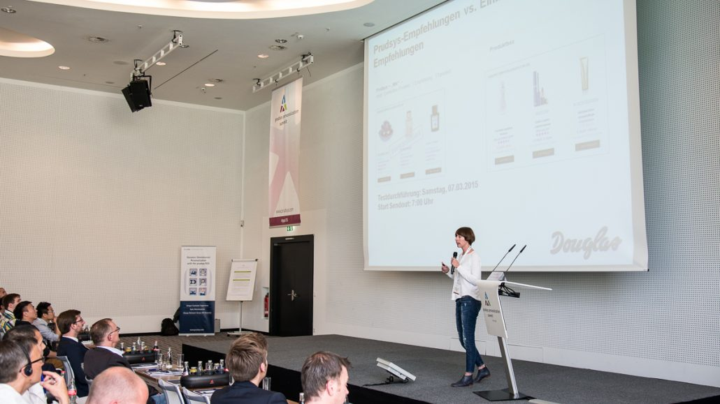prudsys personalization summit, Konferenz, Douglas, pps15, Berlin, E-Commerce, Handel