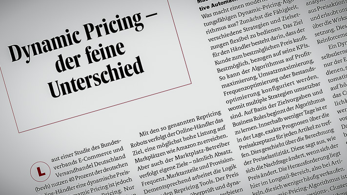 prudsys AG, ONEtoONE, Artikel, Dynamic Pricing, prudsys RDE, Omnichannel, Handel, Echtzeit, Realtime, E-Commerce