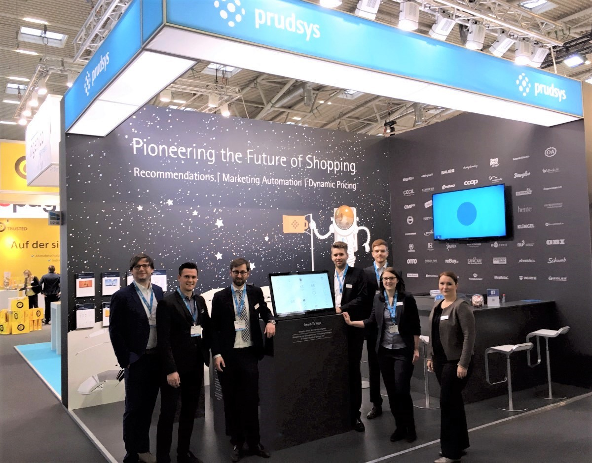 prudsys zeigt Recomendations, Marketing Automation & Dynamic Pricing auf Messe Internet World 2017.
