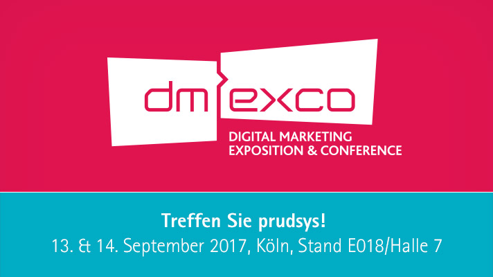 prudsys auf dmexco mit Omnichannel-Hub für Personalisierung | Recommendations | Marketing Automation | Dynamic Pricing