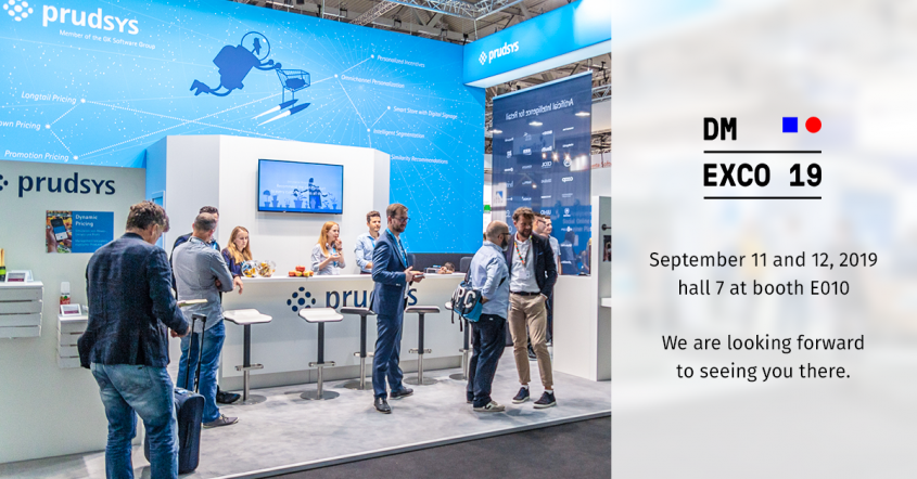 prudsys presents new solutions for dynamic pricing and personalization at DMEXCO 2019