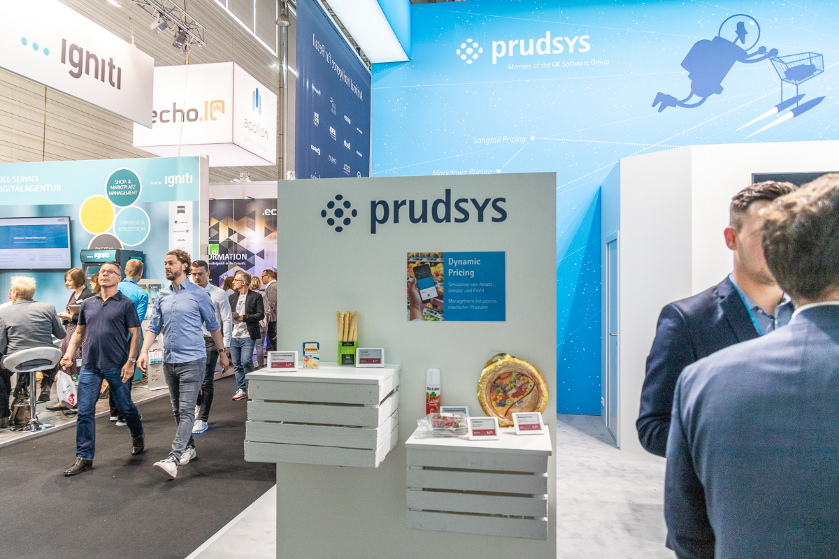 Use Case Dynamic Pricing mit ESL bei prudsys @ DMEXCO 2018