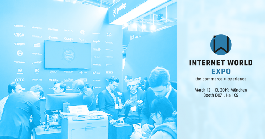 prudsys at the Internet World Expo 2019: Test intelligent pricing and customer-oriented personalization in person at booth D071