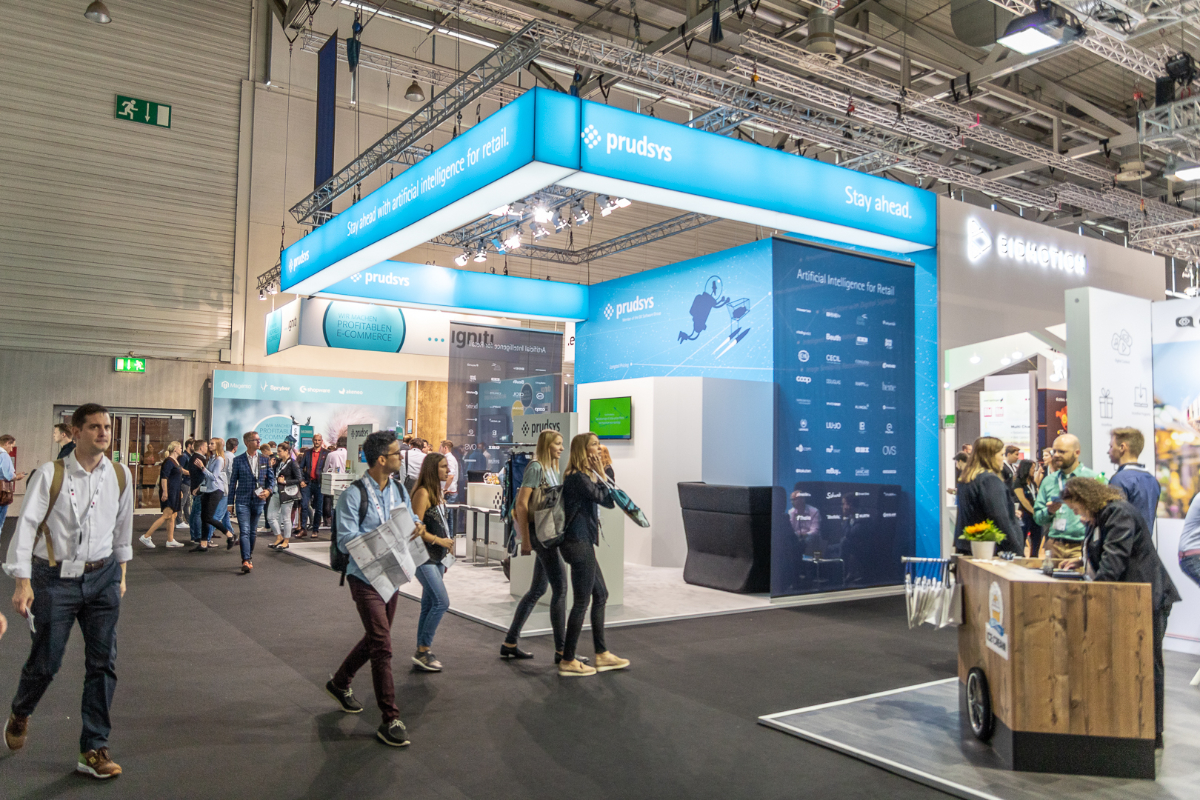 Dynamic Pricing & Personalisierung Messestand prudsys @ DMEXCO 2018