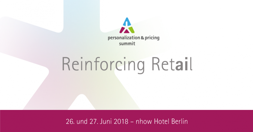 personalization & pricing summit am 26. und 27. Juni 2018 in Berlin