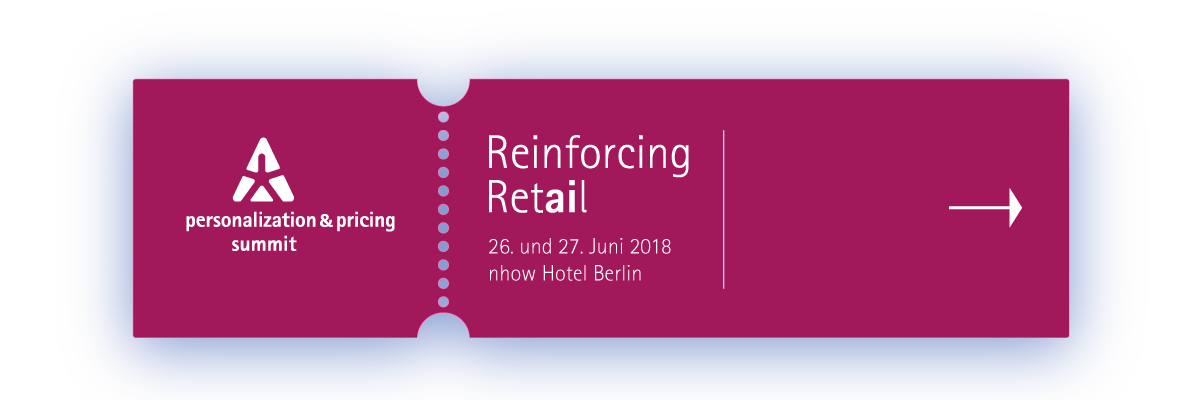 KI für den Handel: personalization & pricing summit